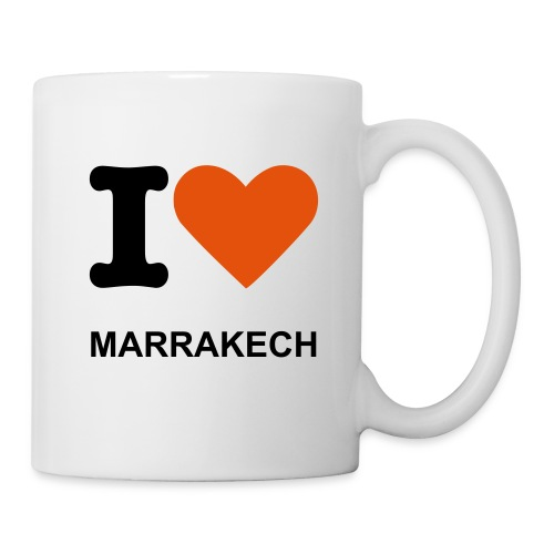 I LOVE MARRAKECH CUP - Mug blanc