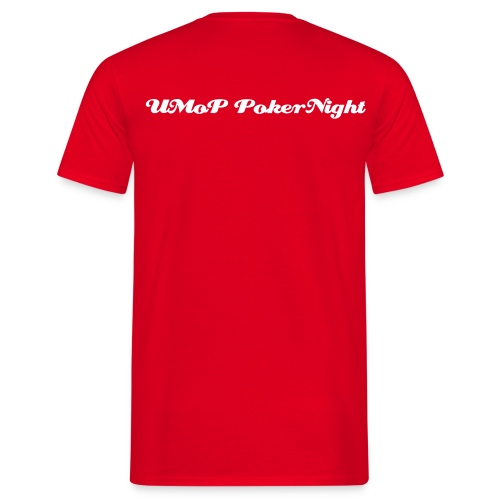 UMoP-Pokernight-T-Shirt (Classic One) R - Männer T-Shirt