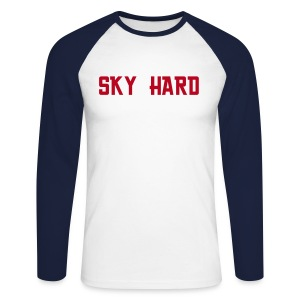 Sky Hard - C(i)elo DURO. - Men's Long Sleeve Baseball T-Shirt