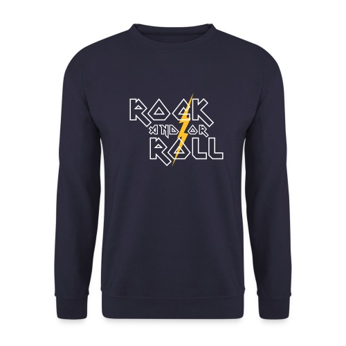 Rock And Roll Sweatshirt - Men's Sweatshirt