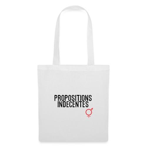 Propositions Indecentes - Tote Bag
