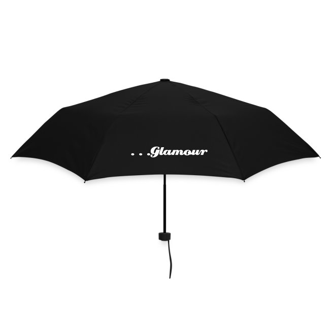Black 'Love Glamour' Umbrella