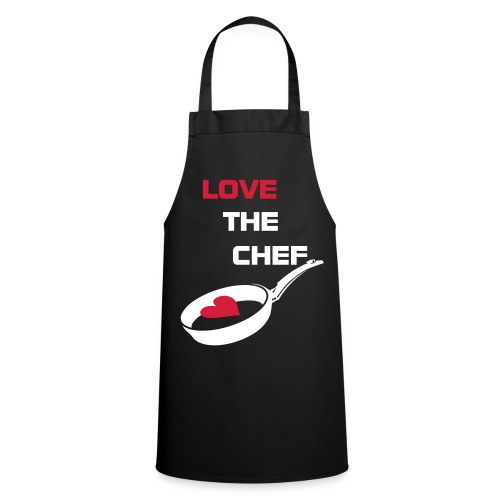 Black 'Love the Chef' Apron - Cooking Apron
