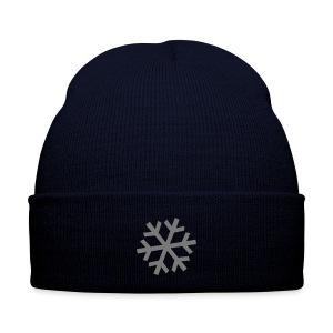 Weihnachten Mütze Schneeflocke - Wintermütze