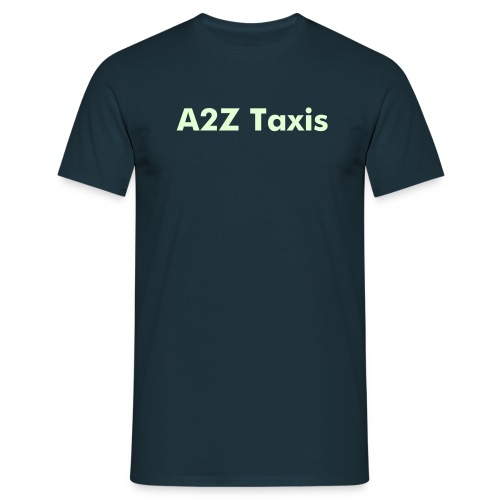 Corporate Tee.Glow -in-the-dark-text can be changed to suit. - Men's T-Shirt