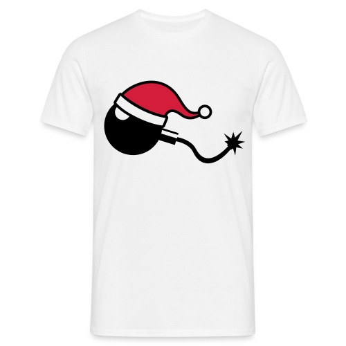 Bomba de Navidad (Hombre) - Camiseta hombre