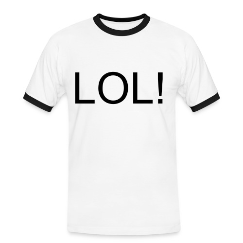 LOL! Luxury Tee - Men's Ringer Shirt
