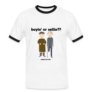 eyebrowy touts - Men's Ringer Shirt