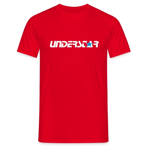 UNDERSTAR Red  T-shirt - Men's T-Shirt