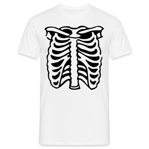 Genu-Tee's Uni-Sex 'Ribcage' Tee - Men's T-Shirt
