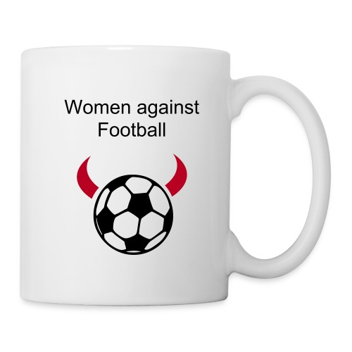 Women against Football! - Mug