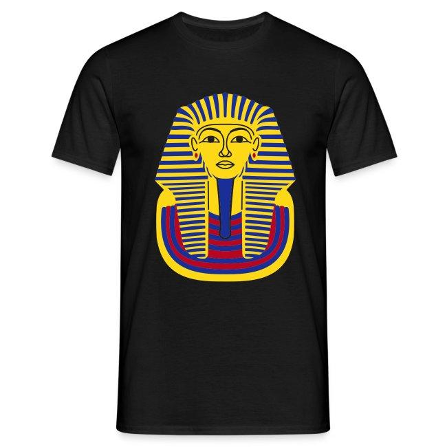Tutankhamun Mask (Flock Print)