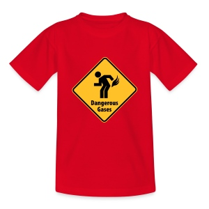 Childrens Dangerous Gases - Teenage T-shirt