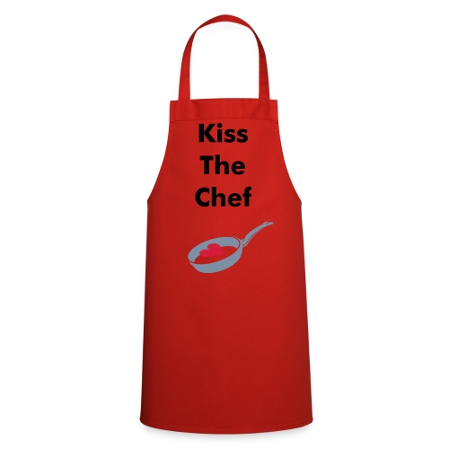 Kiss the chef apron - Cooking Apron