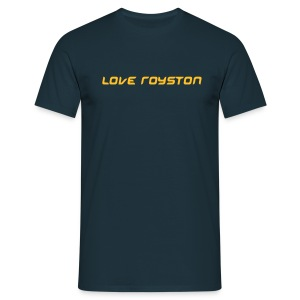 Royston Town Love - Men's T-Shirt