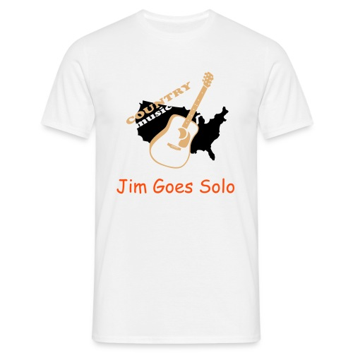 Jim Goes Solo - Country Mens T - Men's T-Shirt