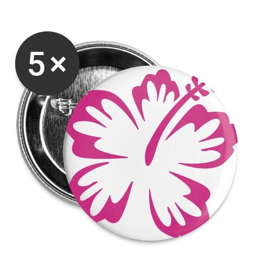 Kukkapinssi - Rintamerkit isot 56 mm (5kpl pakkauksessa)