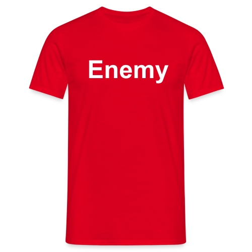 Enemy - Männer T-Shirt