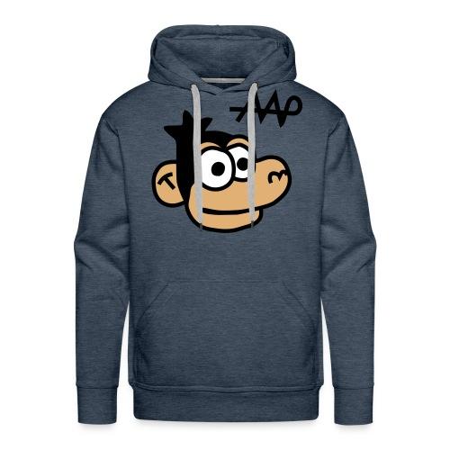 Sweater met capuchon en Aap - Men's Premium Hoodie