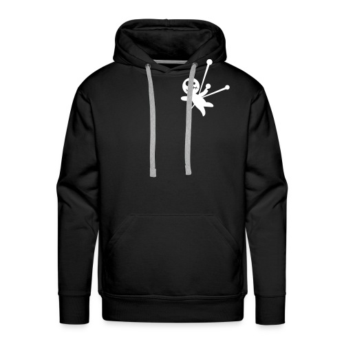 BLACK The Fallen HOODY - Men's Premium Hoodie