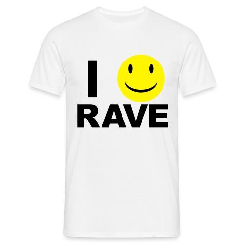 I :D Rave - Men's T-Shirt