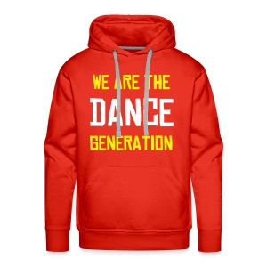 Sweat Homme We are the dance generation - Sweat-shirt à capuche Premium pour hommes