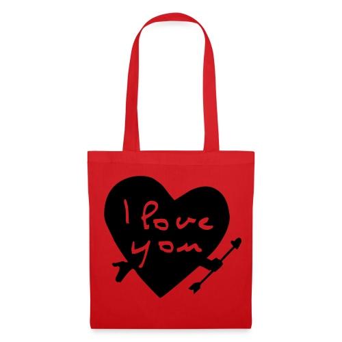 ''I love you'' Tote bag. - Tote Bag