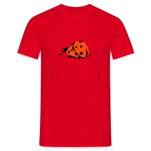 Marienkäfer-Shirt - Männer T-Shirt