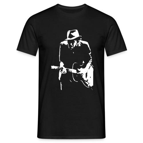waits:.kolorit schwarz - Männer T-Shirt