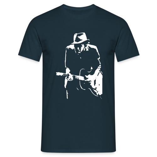waits:.kolorit navy - Männer T-Shirt