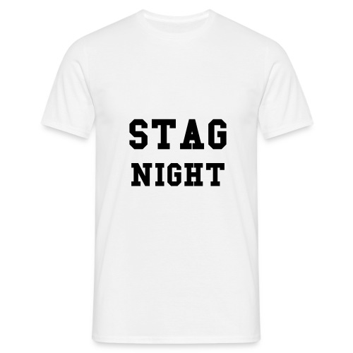STAG NIGHT T Shirt - Men's T-Shirt