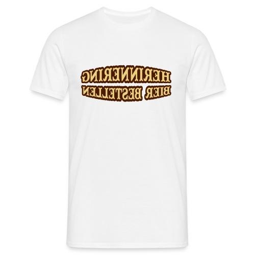 herrinnering bier bestellen - Mannen T-shirt