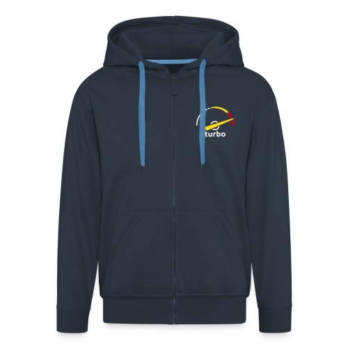 Saab Turbo gauge hooded jacket - Men's Premium Hooded Jacket