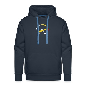 Saab Turbo Gauge hooded jacket - Men's Premium Hoodie
