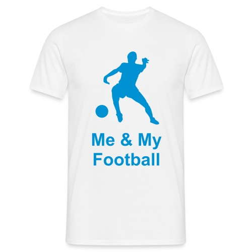 Men's T-Shirt - me and my football