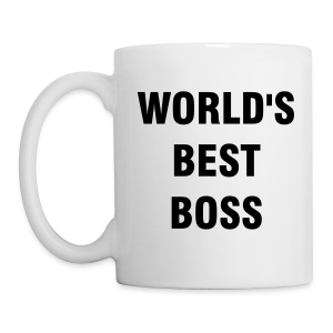 WORLD BEST BOSS The Office Coffee Mug - Mug