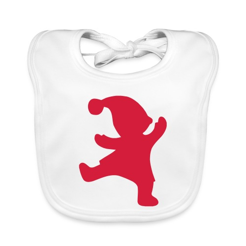 Tontturuokalappu / Tomtehaklapp - Vauvan ruokalappu