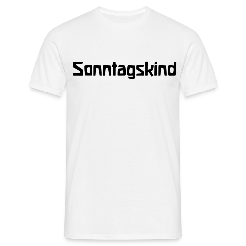 Sonntagskind - Men's T-Shirt