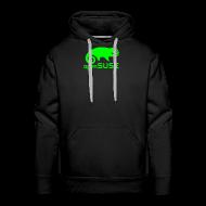 Hoodies & Sweatshirts ~ Men's Premium Hoodie ~ Men's Hoodie Green Logo