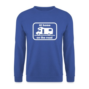 At home - on the road - Men's Sweatshirt