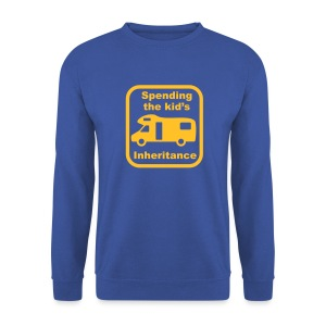 Spending the Kid's Inheritance - Men's Sweatshirt