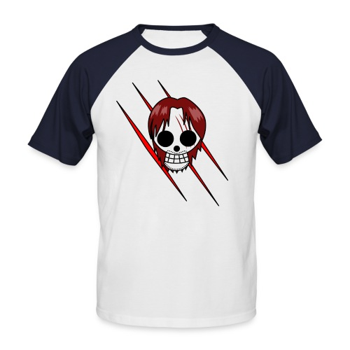 Shanks ~ T-Shirt (Red) - Männer Baseball-T-Shirt