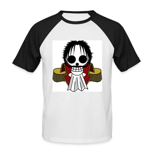 Roger ~ T-Shirt (Black) - Männer Baseball-T-Shirt