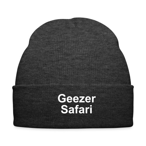 Geezer Safari Beany - Winter Hat