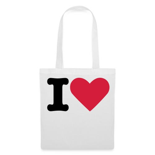 i love bag - Tote Bag