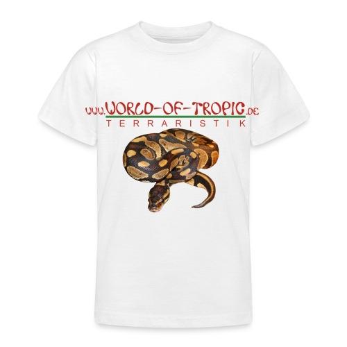 Kinder T-Shirt Königspython - Teenager T-Shirt
