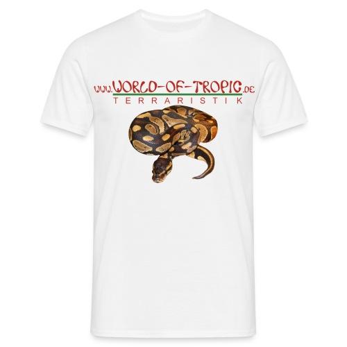 T-Shirt Königspython - Männer T-Shirt