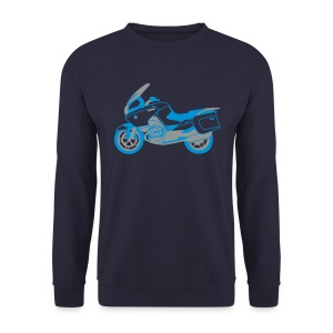 R1200RT Silver Lowers (Navy) - Men's Sweatshirt