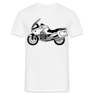 R1200RT Silver Lowers (White) - Men's T-Shirt