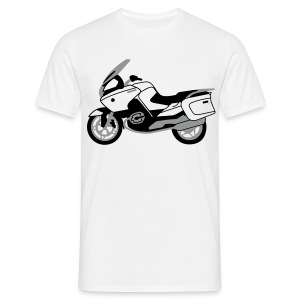R1200RT Black Lowers (White) - Men's T-Shirt
